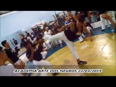 RODA DE CAPOEIRA - ACADEMIA ARTE DOS NEGROS