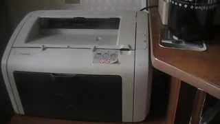 Принтер HP LaserJet 1018»