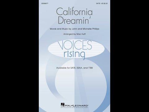 California Dreamin' (SATB) - Arranged by Mac Huff