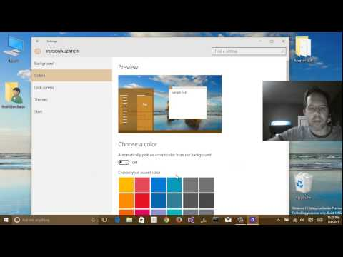 Windows 10 - 10162 - A complete tour of the new Windows 10 Control Panel