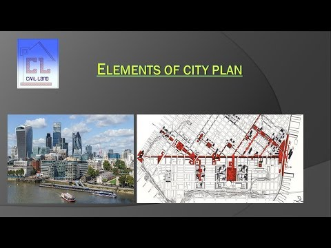 Elements of City Plan