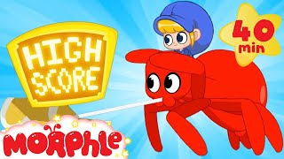 Mila and Morphle's VIDEO GAME!   Spider Superhero Morphle and more   Cartoons for Kids   Morphle TV
