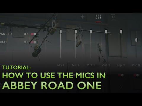 ABBEY ROAD ONE - MIC TUTORIAL