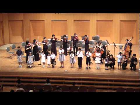 Leopold Mozart : Toy Symphony おもちゃの交響曲第1楽章 E.Angerer