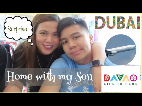 OFW Mom Homecoming Surprise