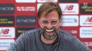 Funny Jurgen Klopp Press Conference Moments at Liverpool