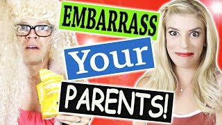 5 Ways to Embarrass Your Parents! SUBSCRIBE TO ME TO BE ENTERED IN THE GIVEAWAY FOR THE ITUNES GIFT CARD! http://bit.ly/1GscSWl SHARE ...