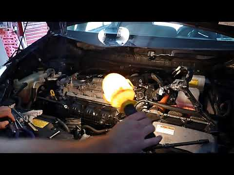 2016 Prius Engine Swap Into 2017 V Start To Finish Part 2