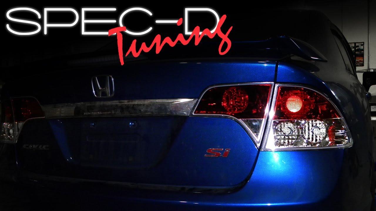 Specdtuning Installation Video 2006 2010 Honda Civic 4