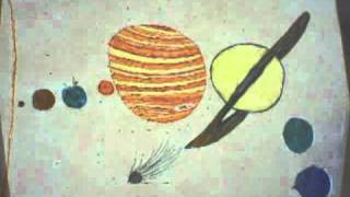 Time-lapse Drawing of Solar System