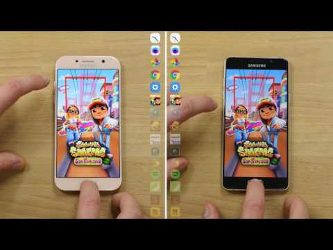 Speedtest : Samsung Galaxy A5 2017 VS Galaxy A5 2016