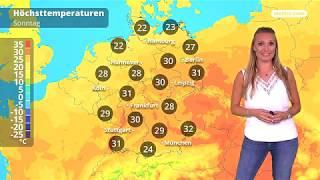 Wetter: Die aktuelle Vorhersage (19.08.2018)