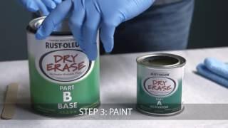 Краска с эффектом маркерной доски Dry Erase Paint<
