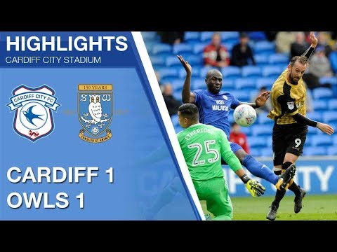 Cardiff City 1 Sheffield Wednesday 1 | Extended highlights | 2017/18