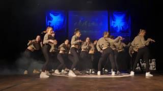 Adults Advanced - Clap Dhat show by Deimante @RISEUP2017 (Vilnius, Lithuania)