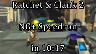 Ratchet & Clank: Going Commando - NG+ Speedrun in 10:17