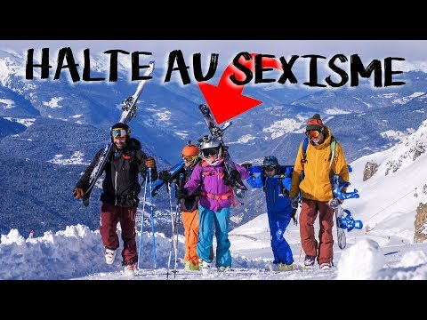 WINTERACTIVITY ep17 - HALTE AU SEXISME - Ski freeride