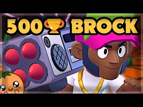 Bounty DOMINATION with Brock to 500 Trophies | Brawl Stars