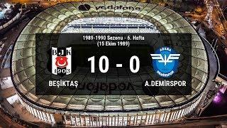 Süper Lig Tarihi'ndeki En Gollü Beşiktaş Maçları