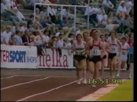 Atletismo :: Carlos Lopes fica a 94 centésimos do recorde do mundo nos 10000m em Oslo a 9/7/1983