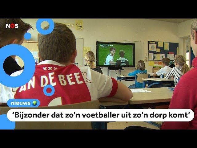 Kinderen uit Nijkerkerveen trots op Donny van de Beek