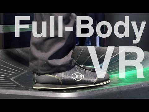 "Legit ""Full-Body"" Virtual Reality - Omni by Virituix at CES 2015"