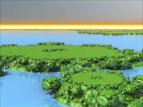 Coastlines - Fractal Animation
