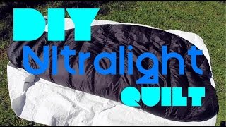 Diy Ultralight Down Quilt