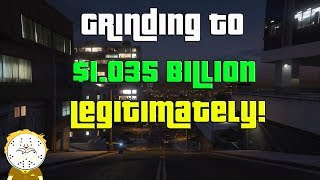 GTA Online Grinding To $1.035 Billion Legitimately And Helping Subs