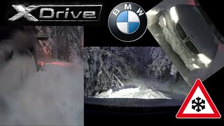 BMW xdrive - Härtetest im Schnee