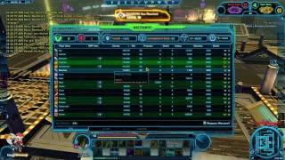 SWTOR Jedi Consular Shadow PVP Gameplay @ 15 Infiltration Spec in Huttball