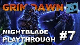 Grim Dawn [Alpha]: Nightblade Playthrough of Act 1 #7 (Livestream VOD)