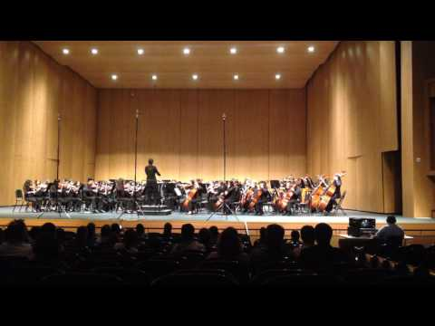 Ereckson Middle School Orchestra May 2016 - Song 2