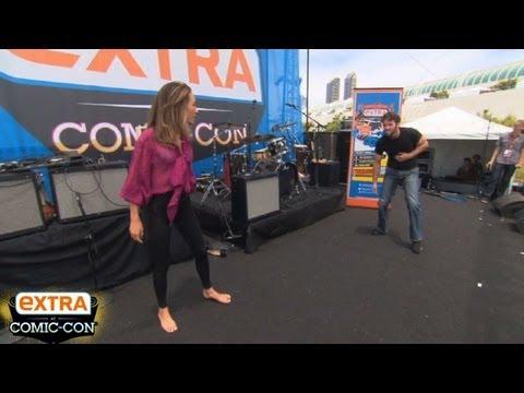 'Extra at Comic-Con': 'Nikita' Comes to Life