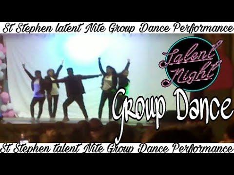 St. Stephen Delhi Talent Nite 2017 Group Dance Performance