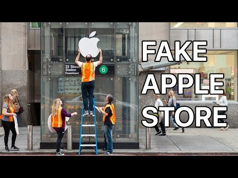 Thumbnail: Waiting in Line for the iPhone X at a FAKE Apple Store