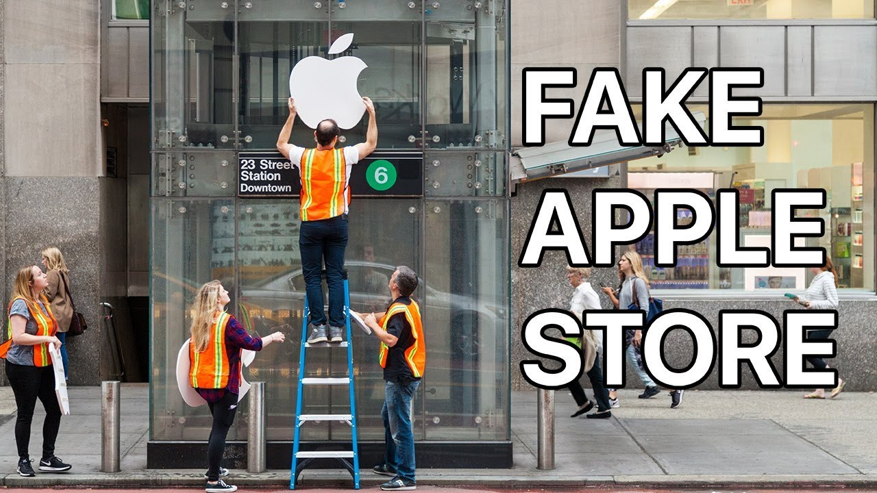 Fake Apple Store - Improv Everywhere
