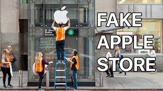 Waiting in Line for the iPhone X at a FAKE Apple Store thumbnail