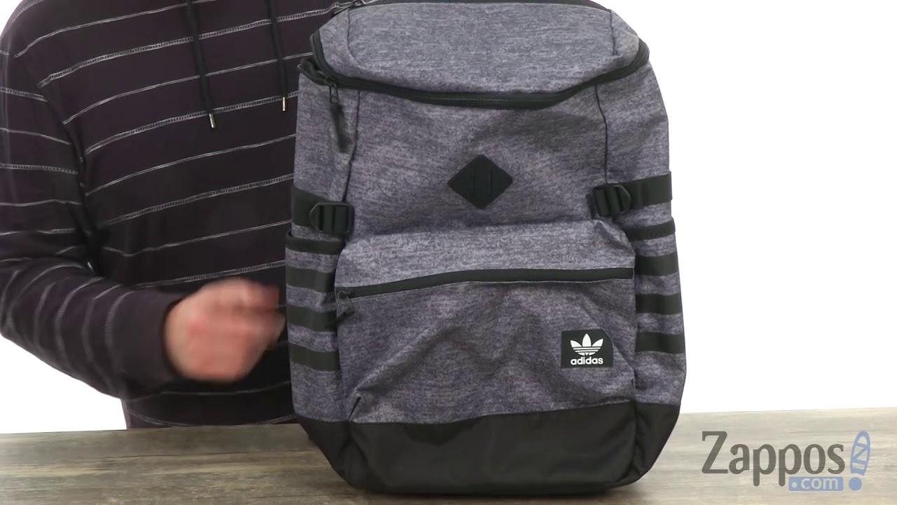74f587991b adidas Originals National Zip Top Backpack SKU  8985169 - YouTube