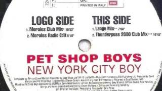 Pet Shop Boys / New York City Boy (Morales Radio Edit)