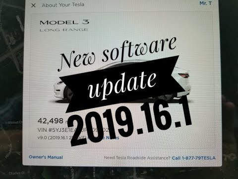 New software update 2019.16.1 (some really cool features!) Tesla Model 3