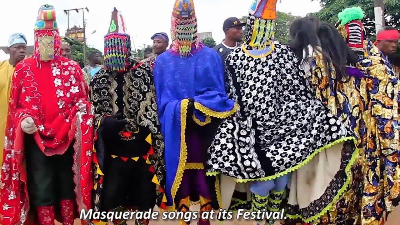 Download EGUNGUN FESTIVAL IN ANCIENT IPOKIA KINGDOM, OGUN STATE, NIGERIA