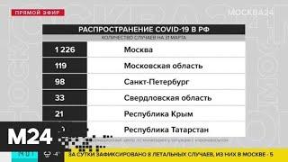В России зафиксировано 500 новых случаев коронавируса - Москва 24