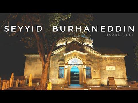 Seyyid Burhaneddin Hz. Türbesi Gece