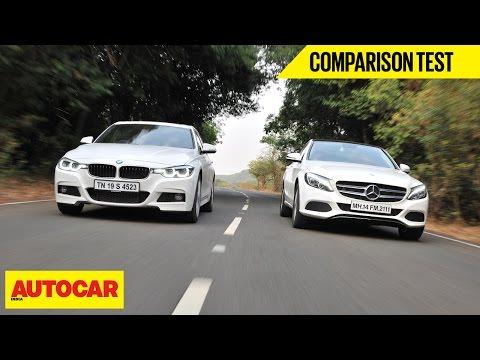 BMW 320d M Sport VS Mercedes-Benz C250 D | Comparison Test | Autocar India