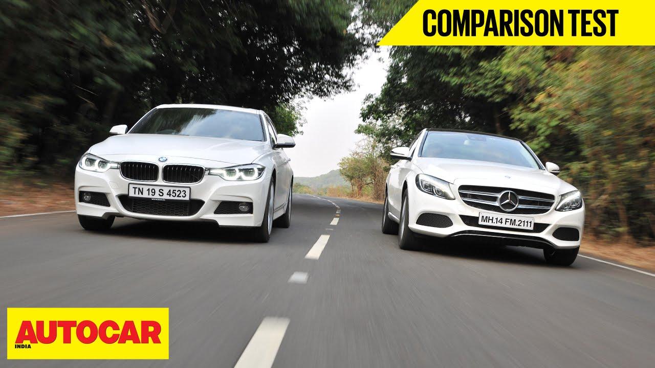 BMW 320d M Sport VS MercedesBenz C250 D  Comparison Test