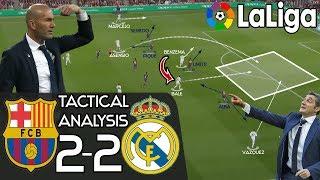 How Zidane's Real Madrid Almost Broke Valverde's Barcelona's Unbeaten Run: Tactics - EL CLÁSICO