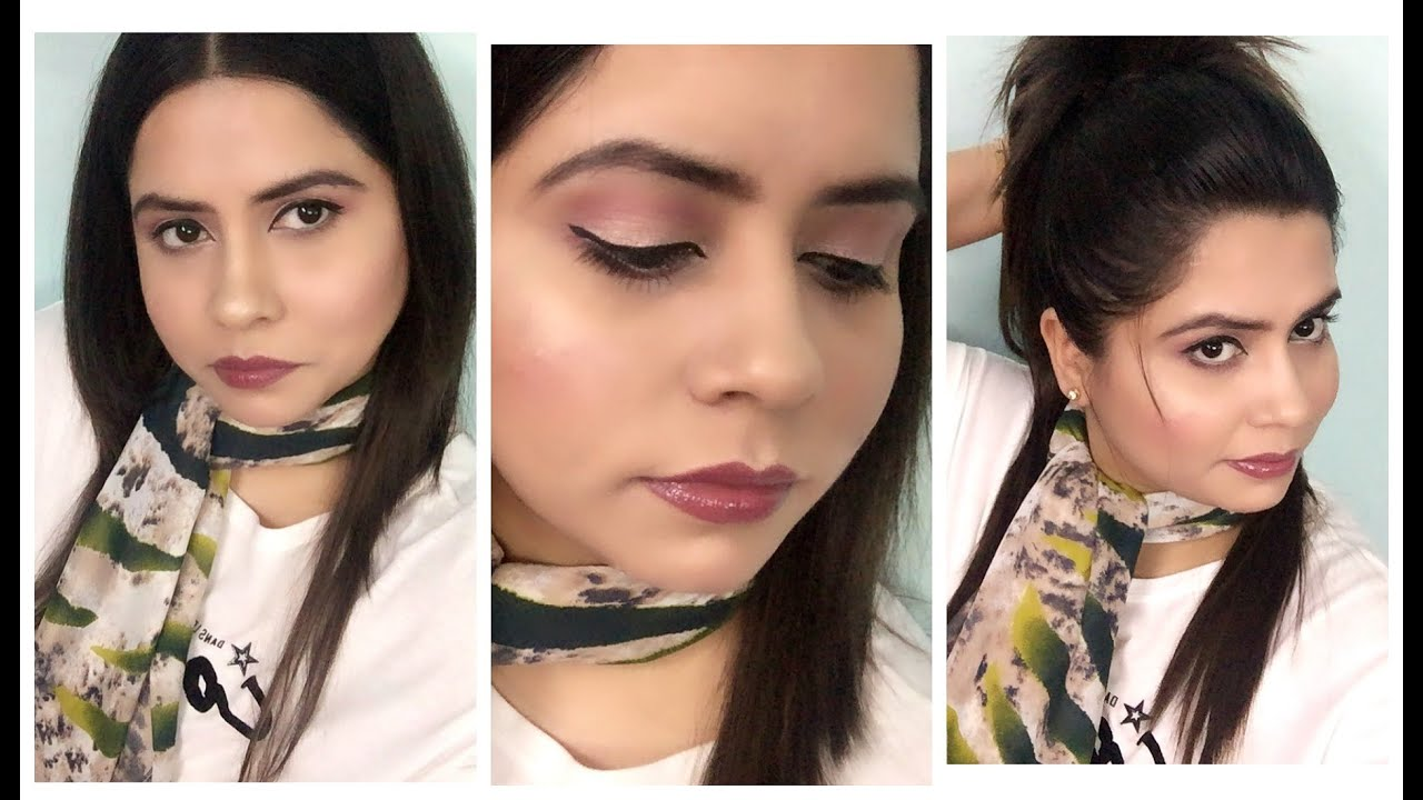 air hostess inspired makeup tutorial | 2016 - youtube