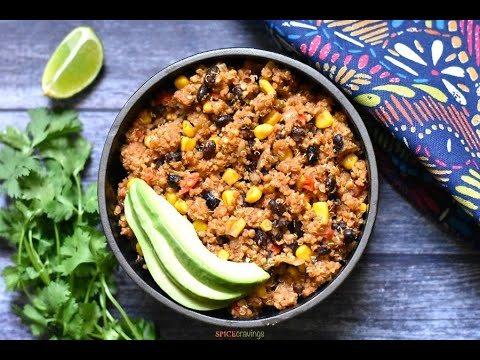 Mexican Quinoa in Instant Pot