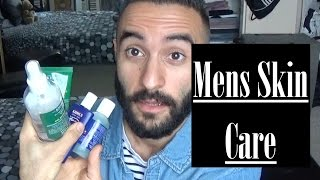 Mens Skin Care tips : Kiehls Mens skin line